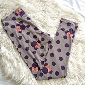 LulaRoe Minnie Mouse OS leggings